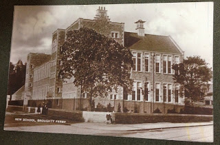 Undated Postcard of the New School, Broughty Ferry