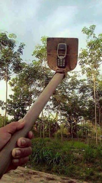 Faire sa perche à selfie sois même !