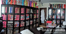 My collection of Barbie