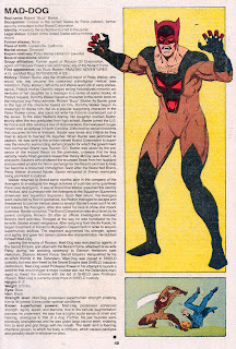 Perro Loco (ficha marvel comics)