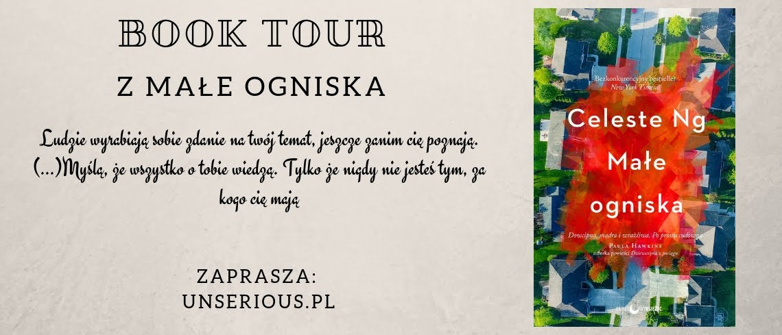 "Book tour z ""Małe ogniska"""