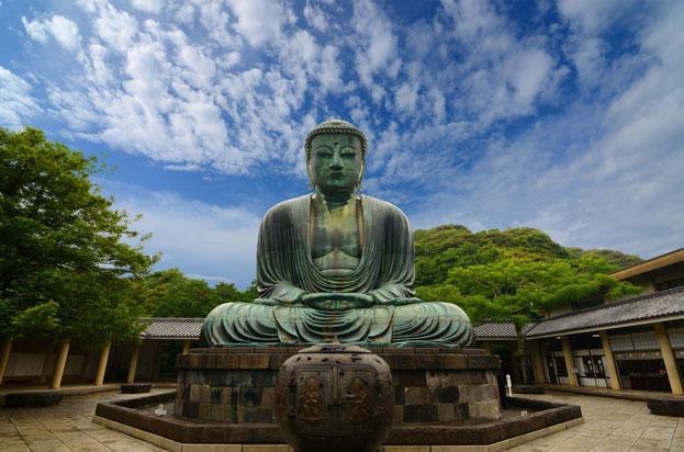 The Great Buddha Daibutsu Kotokuin Temple Kamakura Japan
