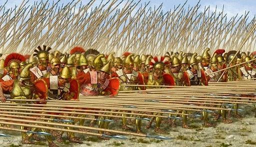 Ejercito de Filipo en las guerras macedonicas