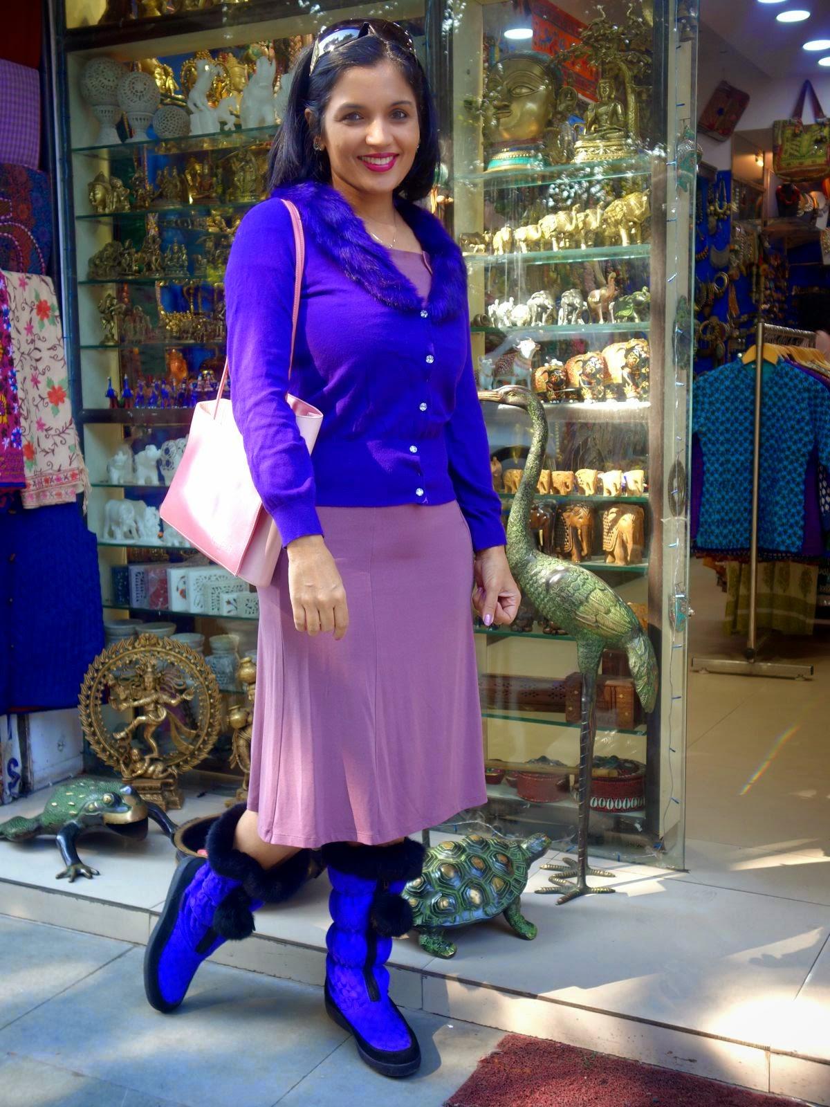 fashion blogger from Delhi