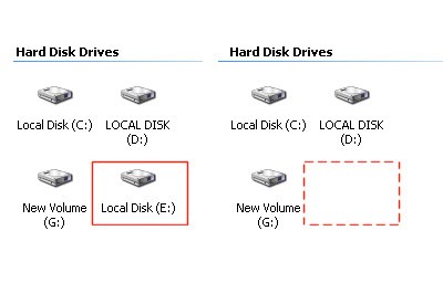 how to initialize hard drive using command prompt
