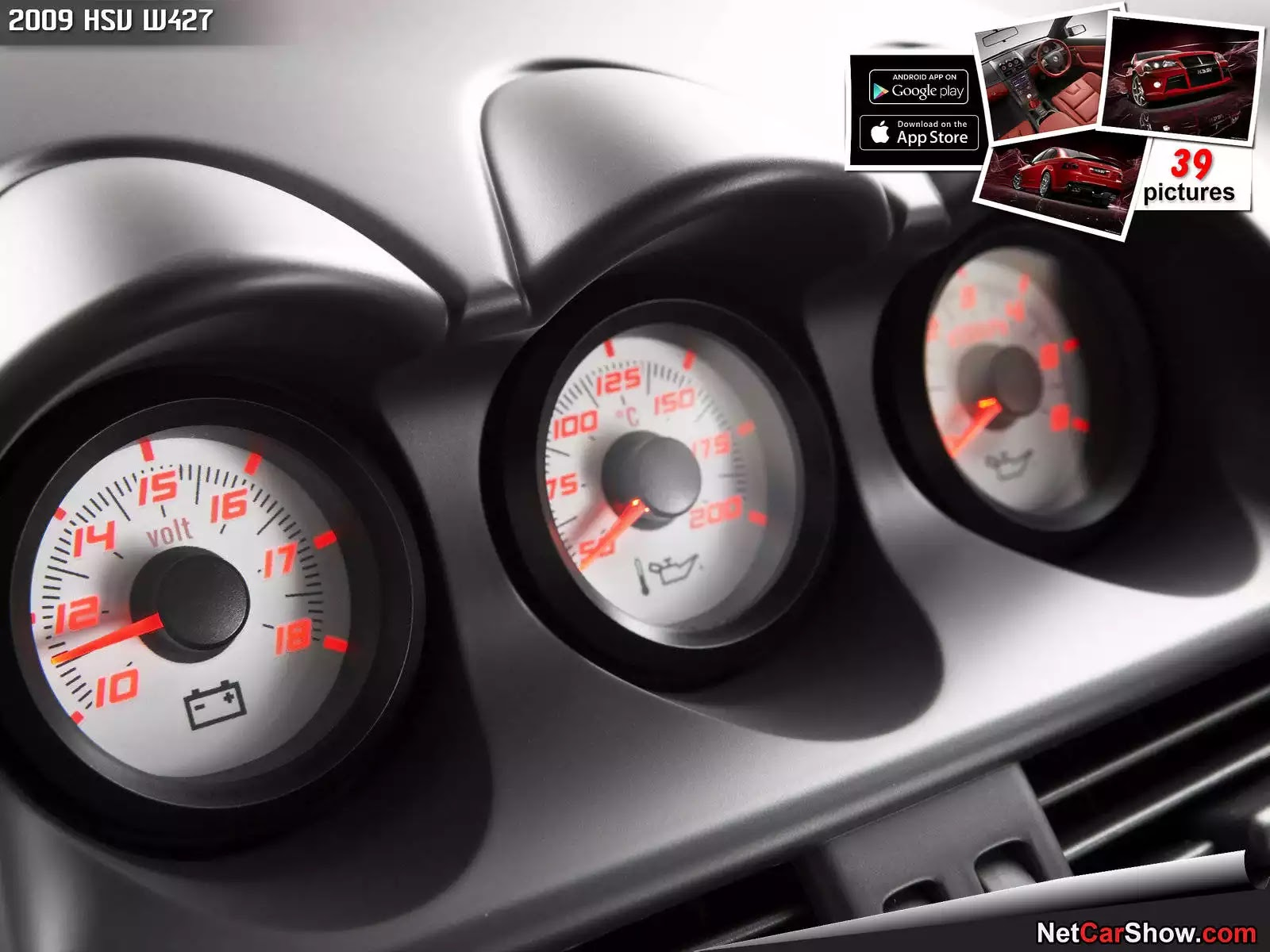 Hình ảnh xe ô tô HSV W427 2009 & nội ngoại thất