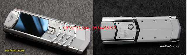 Vertu signatures S  White fake 1