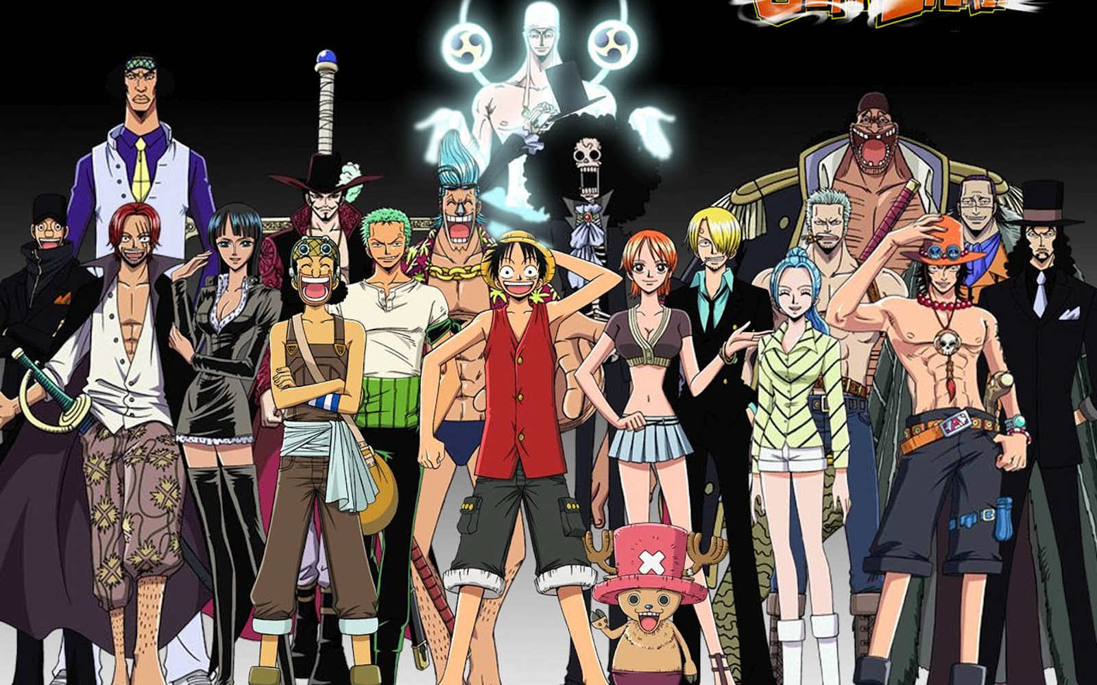 One Piece HD & Widescreen Wallpaper 0.794701275978895