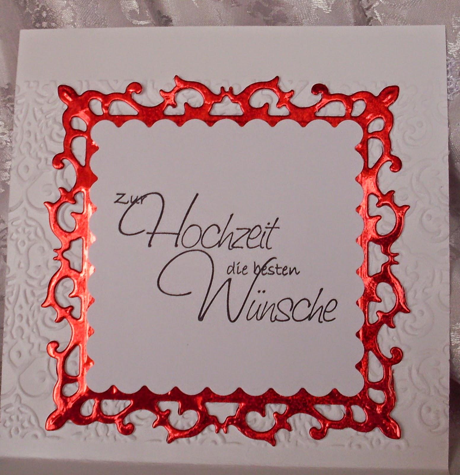 Das sind noch lange nicht alle Hochzeitskarten. Ihr bekommt sie von ...