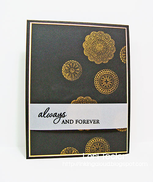 Always and Forever card-designed by Lori Tecler/Inking Aloud-stamps from Waltzingmouse Stamps