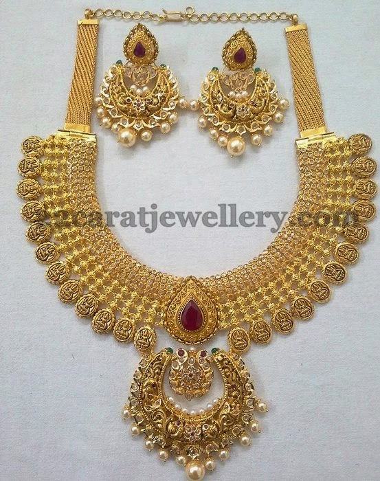 Nakshi Uncut Diamond Necklace