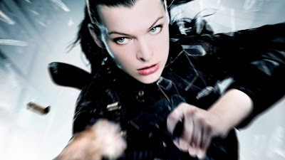 Alice Resident Evil Movie Character Wallpaper