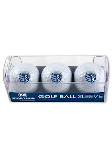Sporting Kansas City MLS 3-Pack Golf Balls