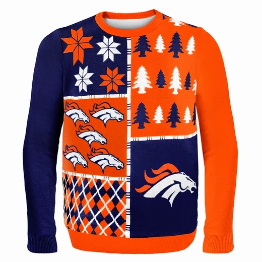 Denver Broncos NFL Ugly Sweater