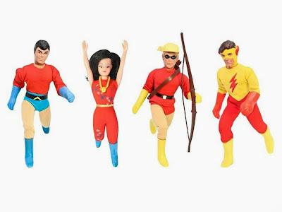 Figures Toy Company Retro/Mego Style Teen Titans