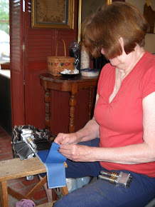 Jacquie, not afraid of fine cut work, you go girl!