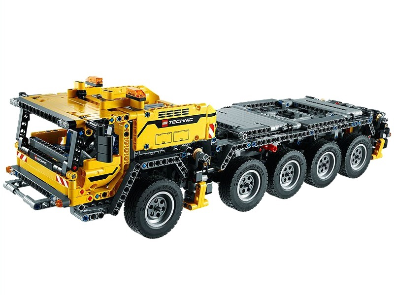 my lego style lego technic mobile crane mk ii 42009. Black Bedroom Furniture Sets. Home Design Ideas