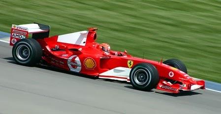 Formula 1 2004 Michael Schumacher/ Ferrari