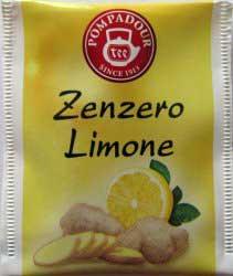 Bustina infuso Zenzero Limone Pompadour