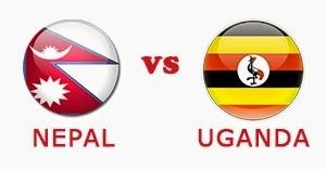 nepal uganda final match live
