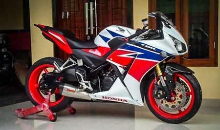 gambar modifikasi Honda CBR K45 jadi CBR1000RR Fireblade