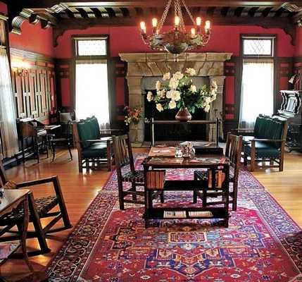 This Is An Interior Photo From Tahoes Ehrman Mansion Also Built In The Late 19th Century Was A Large Luxury With Huge Porches