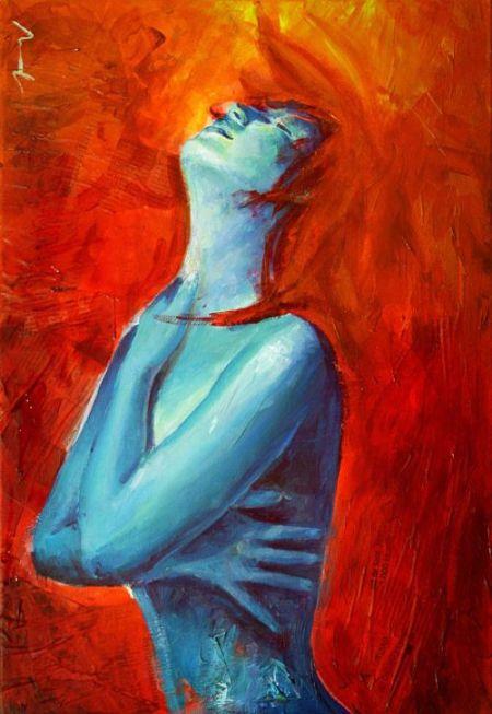 Jorge Monreal cocoaspen deviantart pinturas mulheres caveira