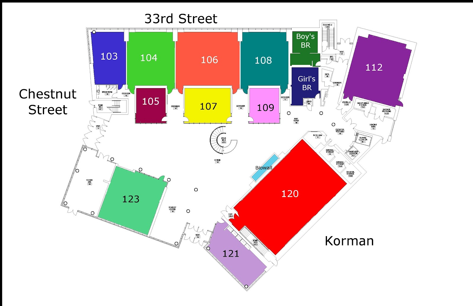 Group 21 04 drexel interactive map may 2012 for Interactive floor plan map