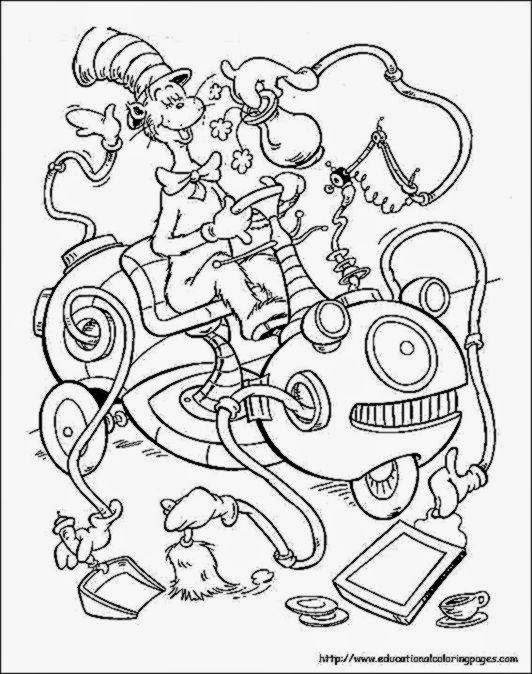 Dr Seuss Coloring Sheet Free Coloring Sheet Seussville Coloring Pages
