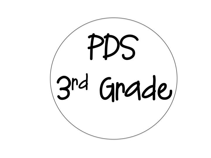 PDS 3rd Grade