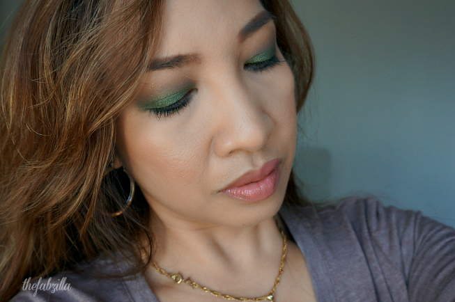 St. Patrick's Day Makeup Inspiration, How to smokey eyes, jewel-tone eye makeup, makeup for brown eyes, marc jacobs new nudes sheer lip gel, marc jacobs (p)outliner, givenchy ombre couture, nars creamy concealer, guerlain lingerie de peau powder foundation, mindy kaling makeup