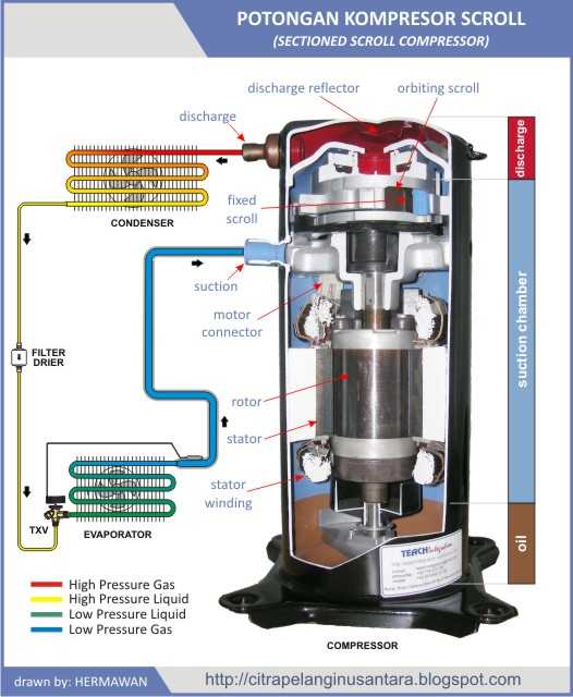 emerson compressor motor wiring diagram citra pelangi nusantara         scroll    compressor     citra pelangi nusantara         scroll    compressor