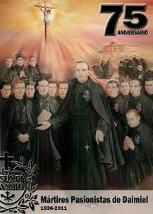 BEATOS MÁRTIRES PASIONISTAS DE DAIMIEL