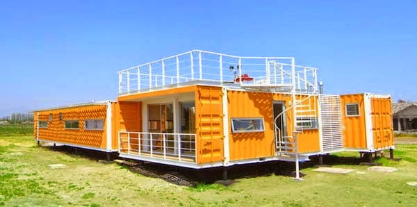 A Shipping Container Costs About $2,000. What These 15 People Did With That Is Beyond Epic - This is the kind of home that keeps a person happy.