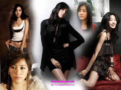 South Korean Actress Yun Ji Min Wallpaper