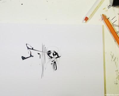 Milliande Sketchbook Art Journal October 2013