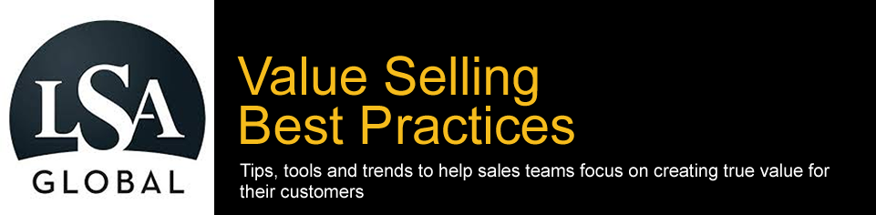 Value Selling Training Best Practices