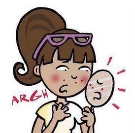 Cosa provoca l' acne e i brufoli? e perché la nostra pelle si