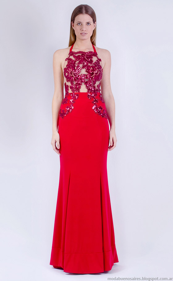 Moda vestidos de fiesta verano 2015 Natalia Antolin.