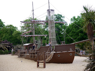 Captain Hook's Ship Playground at Princess Diana Memorial Playground
