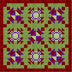 Alternating Block Quilt blog