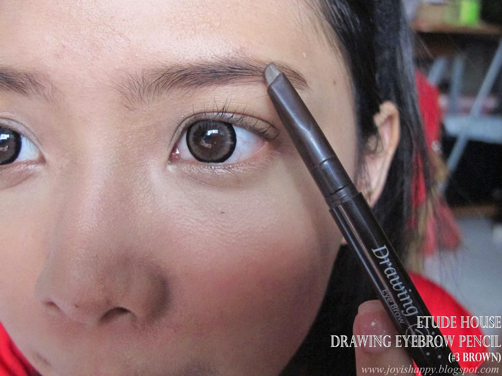 etude house AD drawing eyebrow pencil #3 brown