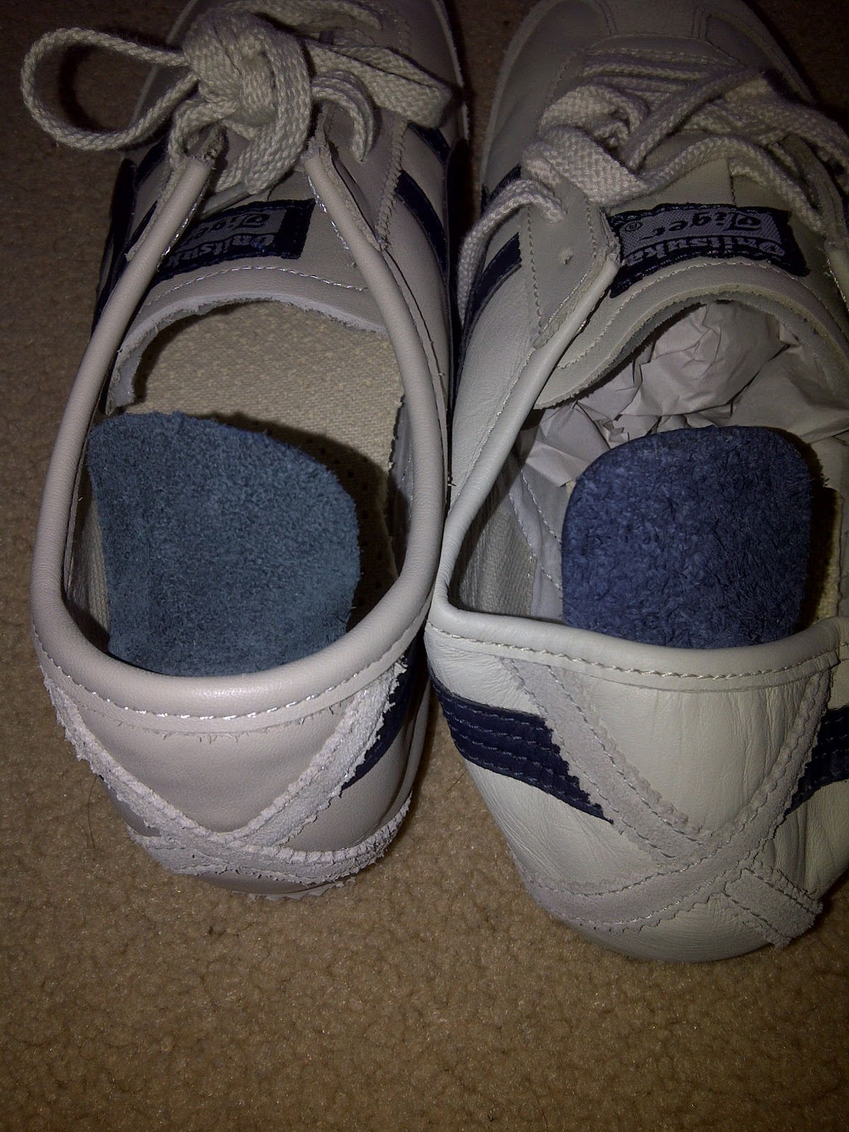FOOT WEAR GALLERY  HOW TO SPOT FAKE ONITSUKA TIGER