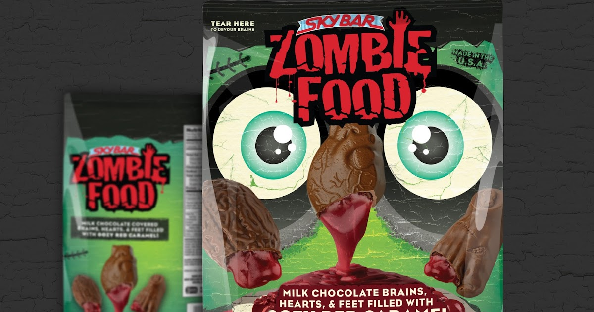 Skybar Zombie Food On Packaging Of The World Creative