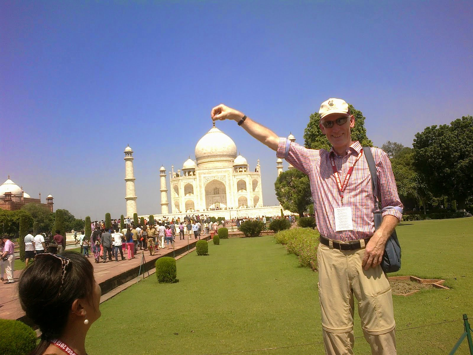 I can lift Taj Mahal