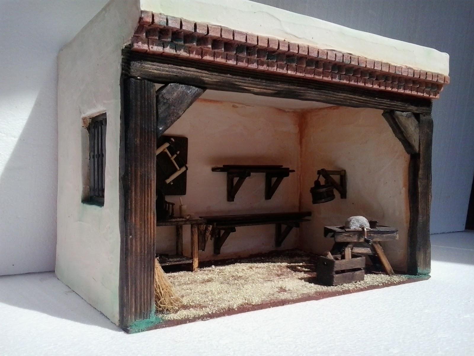 Bel n artesano carpinter a de san jos para el bel n for Casas de herramientas
