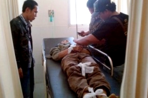 Junaidi Korban Begal. Kabupaten Lampung Utara