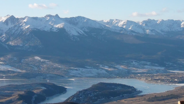 Lake Dillon, CO as seen from Keystone Ski Resort 2011