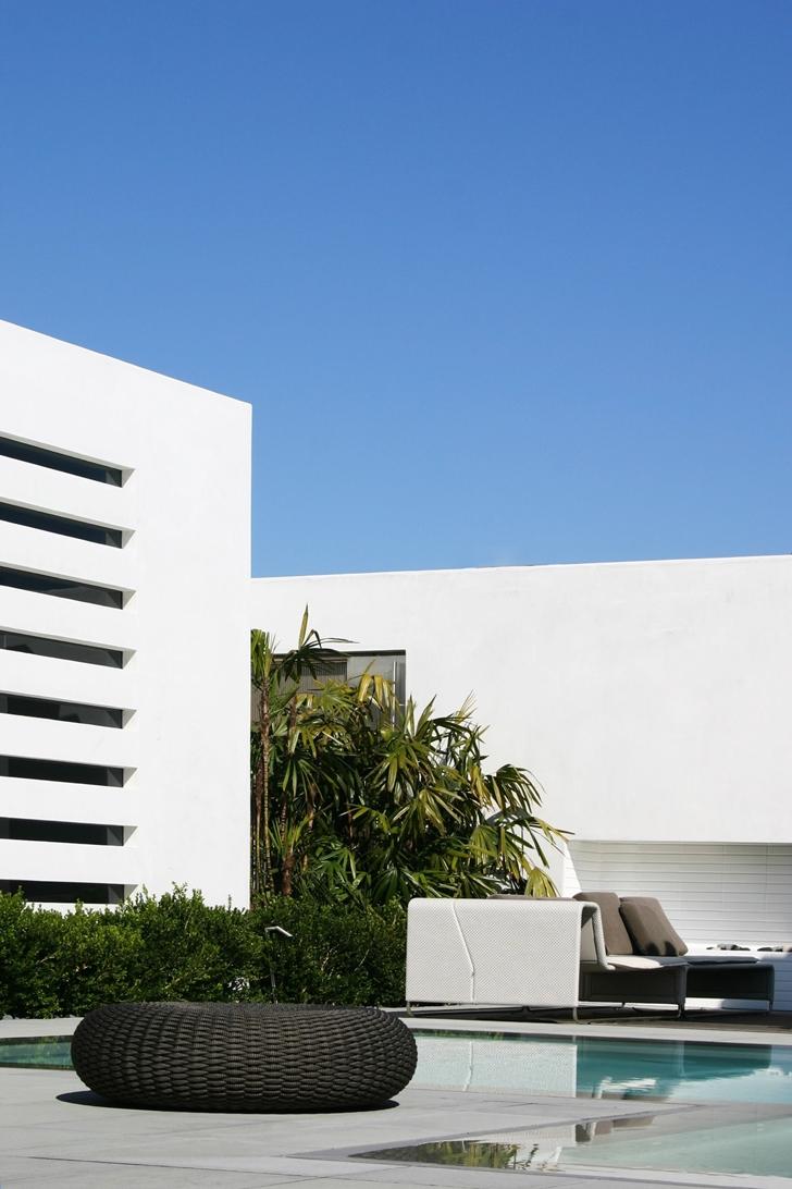 Terrace of CORMAC Residence In California