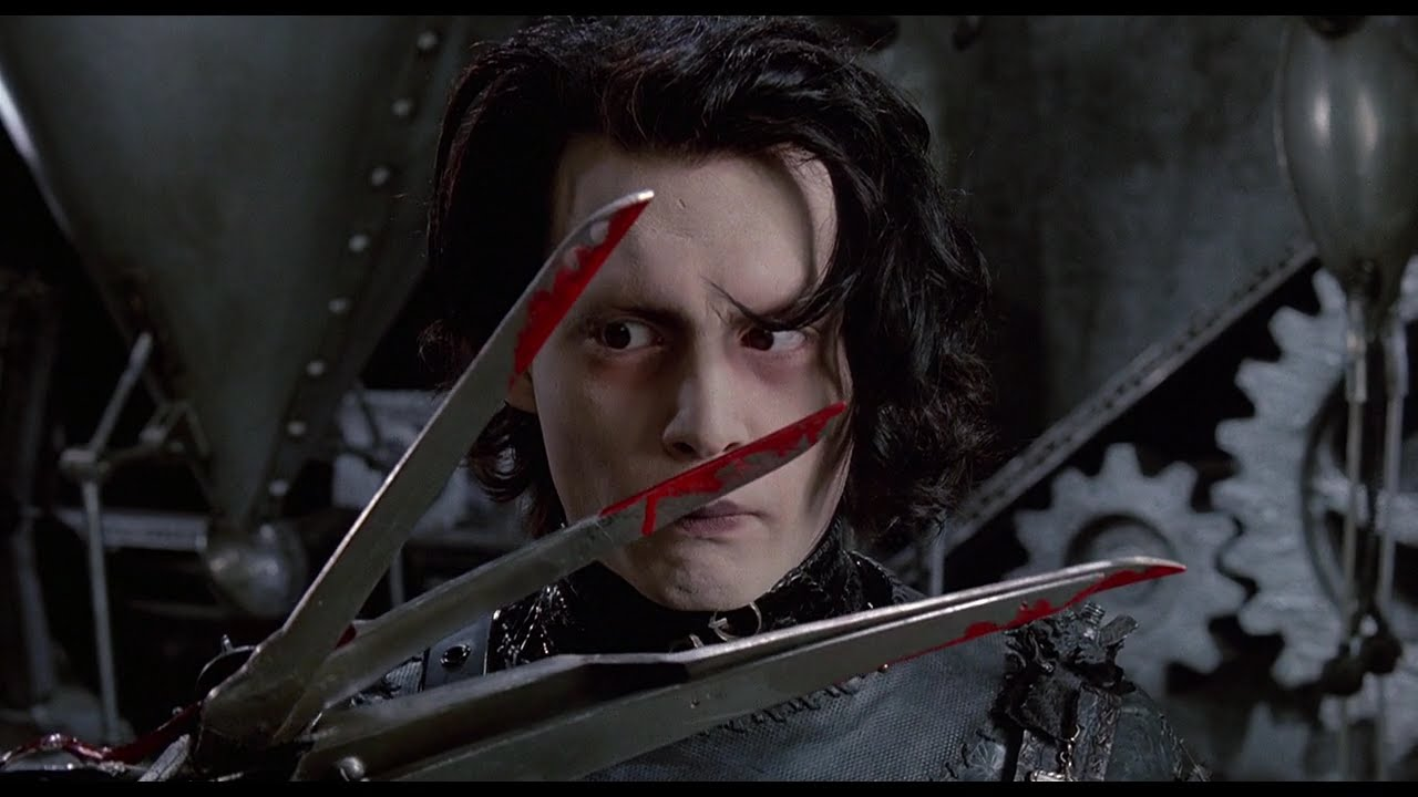 a review of edward scissorhands by tim burton Year 9 english: edward scissorhands [film]: tim burton  of 'the legend of  sleepy hollow' went on to receive average reviews from the public.